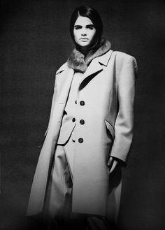 Helena for Prada, 1990. No photo credit. supermodelshrine.tumblr.com