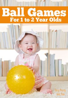 Ball Games for 1-2 Year Olds - Easy Peasy and Fun