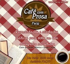 Café com Prosa na FACIG