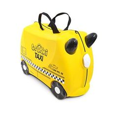 Bike Child Carrier Trailers - Trunki The Original RideOn Tony Suitcase Yellow -- You can find out more details at the link of the image.