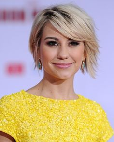 Chelsea Kane hair. I kind of like how this isn't such a round bob anymore. http://girlyinspiration.com/