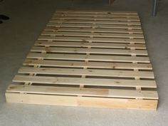 DIY: Ultimate Sturdy Bed: next project