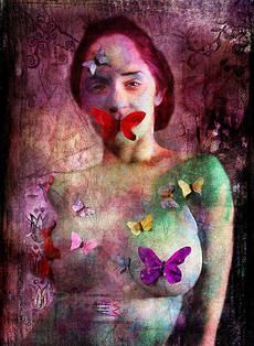 A reminder that art expression and breaking the silence of domestic violence.