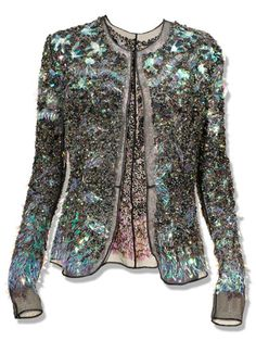 """Sarah Conly, Associate Market Editor  Long-Term Investment:    """"So delicate and pretty. Reminds me of a dragonfly.""""    Theykens' Theory """"Jala"""" jacket, theyskenstheory.com."""