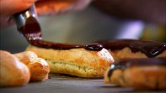 Delicious Chocolate Eclairs – Raymond Blanc's Kitchen Secrets  – BBC Food