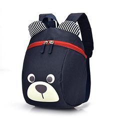 40a755df21 Cute Bear Small Toddler Backpack Leash Children Kids Bag Boy Girl dark blue   fashion  clothing  shoes  accessories  kidsclothingshoesaccs   boysaccessories ...