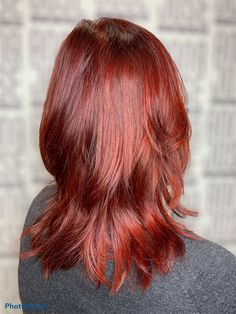 Red Hair Color, Long Hair Styles, Beauty, Cosmetology, Long Hairstyles, Ginger Hair, Long Haircuts, Long Hair Cuts