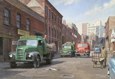 Ford Austin Leyland » Transport Artist