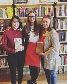 """Today we are proud to highlight the work that Milkweed women doboth seen and unseento bring books to life. #ADayWithoutAWoman  """"Much of a publicists role requires visibilityattending conferences meeting with editors and shouting about books on social media. A lot of my work though is unseen including the efforts that go into planning publicity campaigns. In thinking about the potential for a book Ill create advanced reading copies (ARCs) to send to editors writers booksellers and influencers…"""