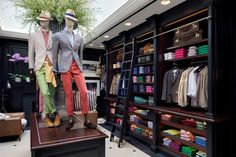 Hackett in Covent Garden is the home of men's fashion.