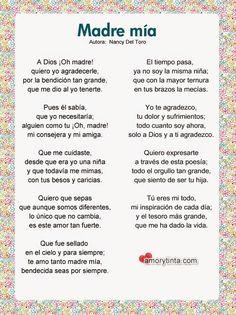 poemas para las madres - Google Search