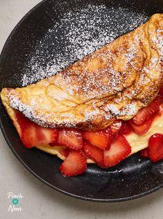 Best Omelette, Breakfast Omelette, Omelette Recipe, Breakfast Bake, Healthy Breakfast Recipes, Healthy Breakfasts, Breakfast Ideas, Healthy Meals, Healthy Life