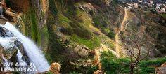 The famous Jezzine waterfall شلال جزين المشهور Photo by Mohamad Mazannar