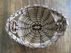 Accent Pine Needle Basket by artsfromtheforest on Etsy