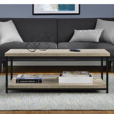 """Features:  -Complete your room with the Comet end table and 50"""" TV stand (each sold separately).  -Coffee table is finished on all sides for versatile placement in your room.  -Hollow core constructio"""