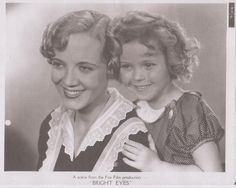 1934 Shirley Temple & Lois Wilson in Bright Eyes