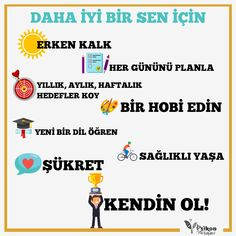 Daha iyi bir hafta, daha iyi bir sen :) Unutma her şey senin elinde! #psikoloji #psikolojikdanışmanlık #psikolojikdestek #psikolojikyardım #psikon #psikonterapi #terapi #kişiselgelişim Self Development, Personal Development, Motivation Sentences, Effective Learning, Study Skills, I Can Do It, Study Motivation, Kids Health, Meaningful Words