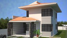 casa com telhados modernos - Pesquisa Google