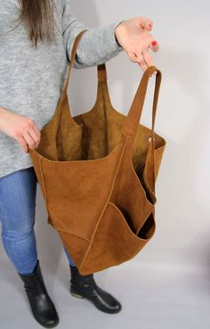 Your place to buy and sell all things handmade : Brown Oversized bag Large Nubuck leather tote bag, Every Day Bag, Women leather bag Slouchy Tote, Brown Handbag for Women Soft Leather Hobo Large Leather Tote Bag, Soft Leather Handbags, Black Leather Backpack, Leather Purses, Leather Bag, Day Bag, Large Bags, Large Tote, Gucci Handbags