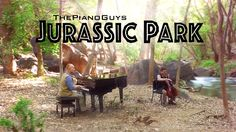 """Jurassic World Sonata"" music composed by John Williams. Filmed in Crawdad Canyon at Veyo Pool Resort and Climbing, Veyo, Utah. The Piano Guys"