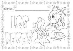 Proyecto los peces Bilingual Kindergarten, Ocean Crafts, Water Animals, Animal Activities, Everyday Activities, Girls Selfies, Class Projects, Worksheets For Kids, Ocean Life