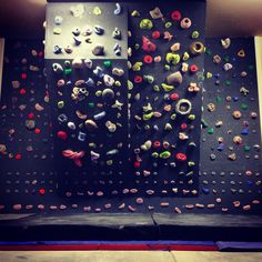 My home climbing wall.