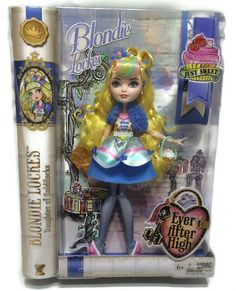 Ever After High Blondie Lockes Just Sweet Doll Goldilocks Toy 13 Inch New #Mattel #DollswithClothingAccessories