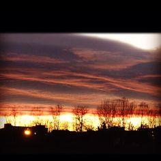 #sunset in #tuscany #prato