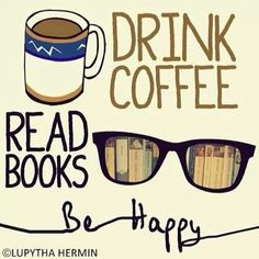 The best and the most clever coffee quotes images that inspiring everyone. Check 32 best coffee quotes images to inspire you daily and encouraginig us. Coffee Quotes, Coffee Humor, Book Quotes, I Love Books, Good Books, Books To Read, Coffee Reading, Coffee And Books, Coffee Is Life