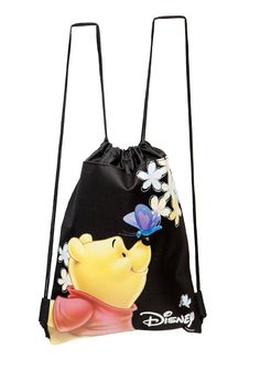 Amazon.com: Disney Winnie the Pooh Black Drawstring Backpack: Toys & Games
