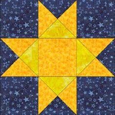 Grammy's Rose Garden Free Quilt Pattern | Best Rose, Patterns and ... : ohio star quilt pattern free - Adamdwight.com