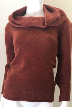 souchi mansfield cashmere cowl neck sweater