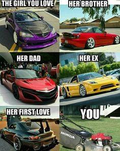 Sua crush, o irmão dela, o pai, o ex, o primeiro amor... E vc :)