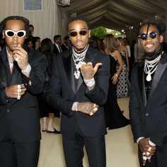 Migos Wears the Brightest—and Best—Jewelry on the Met Gala Red Carpet