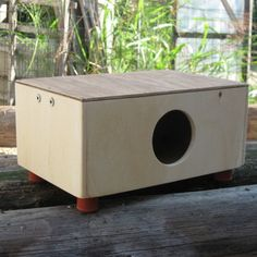 Plywood Mini Cajon (Hand Drum with Guitar string) Instructables