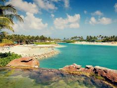 A little slice of paradise in Nassau.