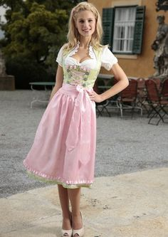 Dirndl, Krüger Madl im Online Shop von Baur Versand  I quite like the neckline on the blouse here.
