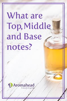 In Aromatherapy we talk a lot about top, middle, and base notes. What do we mean exactly, and how can you identify each note?  The more you learn about essential oils, the more creative you can be when blending.   When you visit the Aromahead blog remember to subscribe to receive more great recipes and information!