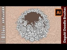 (3) How to draw with Dagubi Doodle Brushes in Adobe Illustrator - YouTube