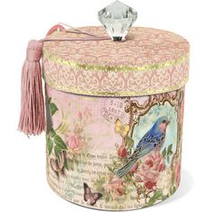 Flora Bird Trinket box