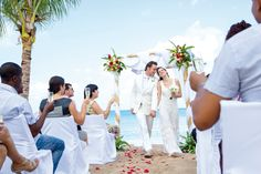 Beach Wedding In Montego Bay Jamaica Weddings By Riu Destination