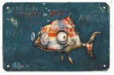 Mateo Dineen - Illustration - Monster - 2007