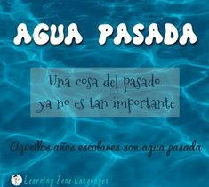 Spanish Idiom about water