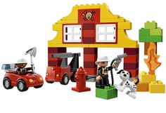 LEGO DUPLO My First Fire Station 6138 -- Want to know more, click on the image. (This is an affiliate link) #LegoGiftsFor10YearOld