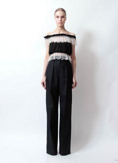 Alaïa Off The Shoulder Lace Top | www.resee.com