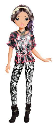violetta  top model malen ausmalbilder foxy draws
