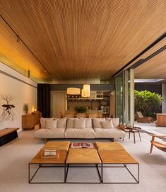 Coastal Style Weekend House in Guarujá, Brazil / Jacobsen Arquitetura Home Design, Decor Interior Design, Interior Decorating, Furniture Design, Sala Grande, Interior Minimalista, Weekend House, Architect House, Design Case