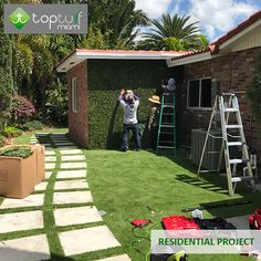 OUR PROJECTS  - Residential -  Visit our gallery http://topturfmiami.com/gallery