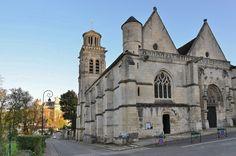 Eglise Saint-Sulpice. Pierrefonds (Oise)