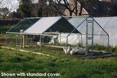 Chicken run 6M x 3M walk in coop for poultry dog rabbit hen cage pen metal door | eBay